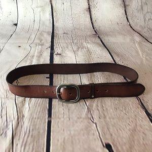 AEO Heart Leather Belt